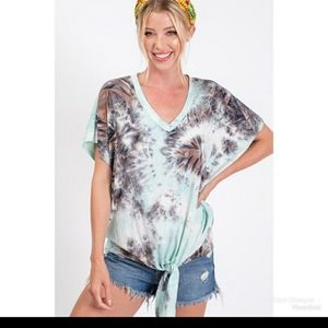 CY Fashion Tie Die Tshirt